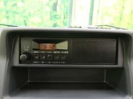 【純正カーオーディオ】インパネにすっきり収まり、とても使いやすいです!ラジオを聴きながら運転をお楽しみいただけます!