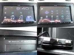モニター付きオーディオ Bluetooth接続可 DVD再生 ETC装備