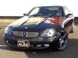 メルセデス・ベンツ SLKクラス SLK320 オープンカー 19インチアルミ 革シート