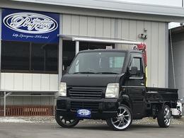 スズキ キャリイ 660 KCエアコン・パワステ 3方開 4WD カスタム軽トラック セミレストア済