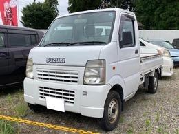 スズキ キャリイ 660 KCエアコン・パワステ 3方開 5速MT エアコン パワステ 軽トラック