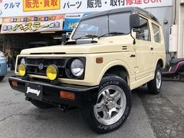 スズキ ジムニー 660 パノラミックルーフ EC 4WD 5速 アルミ付 タイベル交換済