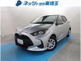トヨタ ヤリス 1.0 X 純正DA サポカー Bluetooth接続
