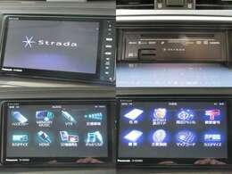 お出掛けに嬉しい、Panasonicナビ(フルセグ地デジTV)付きです♪DVDビデオ再生機能・音楽録音機能・Bluetooth接続も装備しております♪