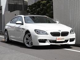 BMW 6シリーズグランクーペ 640i Mスポーツパッケージ SR 黒革 ワンオーナー