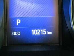 走行距離はおよそ10,000kmです。