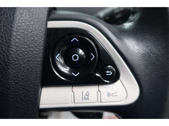 斜線逸脱装置がついてますので、ふらついた時にブザーで教えてくれますよ。追従の車間距離が調整出来る様になってます。
