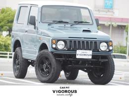 スズキ ジムニー 660 ワイルドウインド 4WD リフトアップ 16AW TOYO M/TタイヤCDデッキ