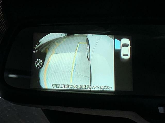 【サイドカメラ】左側方の安全確認ができます。駐車が苦手な方にもオススメな便利機能です。
