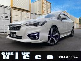 スバル インプレッサG4 2.0 i-S アイサイト 4WD オプションnanoe8型ナビ ピレリー9分山4本