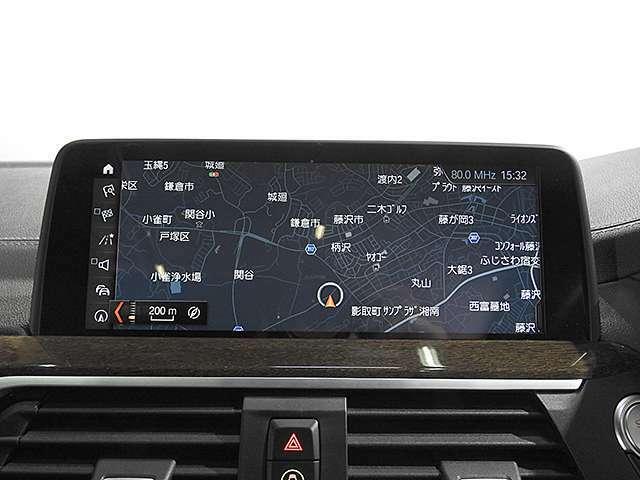 タッチパネルBMW純正iDiveHDDナビ/地デジ、ミュージックサーバー、Bluetoothオーディオ、ハンズフリーフォン付き