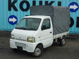 スズキ キャリイ 660 KA 3方開 幌 パワステ