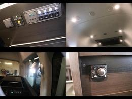 ダウンライトやインバーター、冷温機能など便利な機能が盛りだくさん!