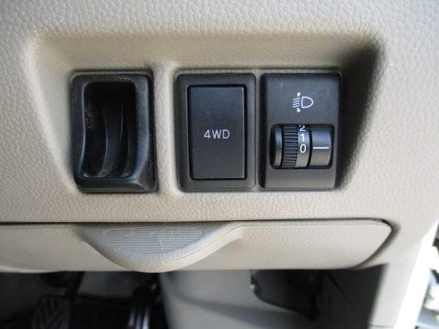 パートタイム4WDで切換可能!