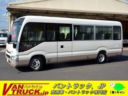 日野自動車 リエッセII ロング LX マイクロバス 29人T 自動ドア モケット MT
