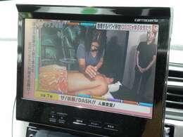 社外HDDナビにフルセグTV付き!