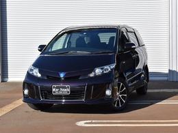 トヨタ エスティマハイブリッド 2.4 アエラス プレミアム エディション 4WD 純正HDDナビTV 両側パワスラ