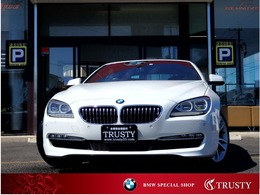 BMW 6シリーズカブリオレ 640i 茶革 LEDヘッドライト 純正19AW 1年保証