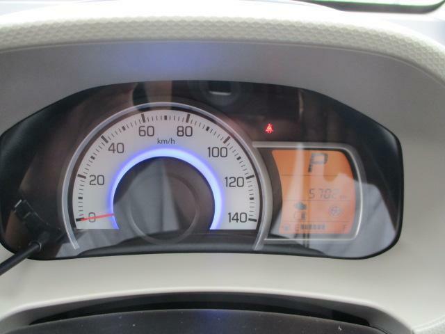 エコドライブをサポートする多機能で見やすくおしゃれなメーターパネルです!走行距離が少ないのも良いですね!