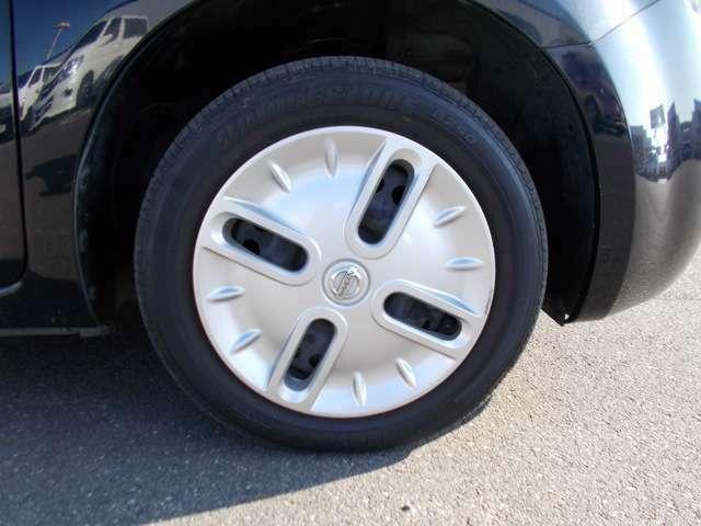 タイヤの空気圧なども大丈夫です。