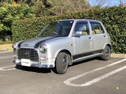 ダイハツ ミラジーノ 660 中期チェック柄シートディーラー下取り車