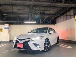 トヨタ カムリ 2.5 WS レザーパッケージ サンルーフ 革シート LED ETC クリソナ