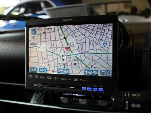 ECLIPSE製1DINインダッシュHDDナビゲーション。バックカメラ設置等、追加装備につきましては、お気軽にご相談ください。詳しくは、フリーダイヤル0078-6002-667525(サンク東京) LINE-ID:sanctokyo