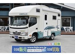 トヨタ カムロード バンテック コルドバンクス 家庭用エアコン 1500Wインバーター ナビ