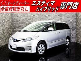 トヨタ エスティマハイブリッド 2.4 G 4WD 4WD 両側自動ドアシアターサウンドシステム