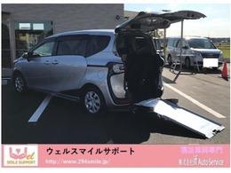 トヨタ シエンタ 1.5 X Vパッケージ ウェルキャブ 車いす仕様車 タイプI 助手席側セカンドシート無