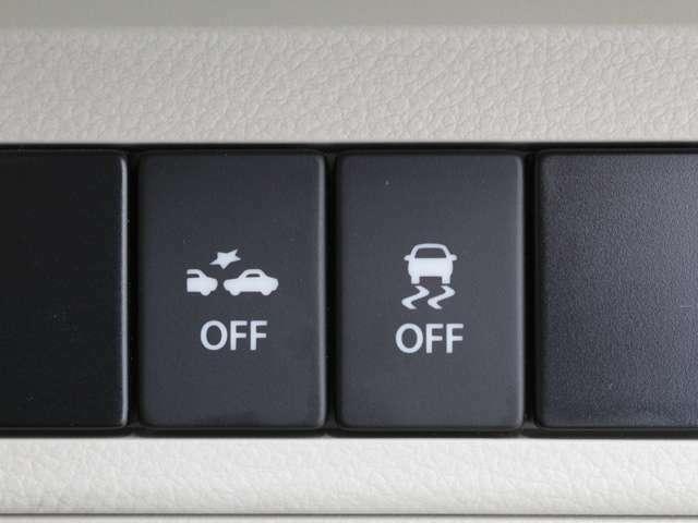 【ブレーキサポート】前方の車両や歩行者を検知し、衝突のおそれがあると判断すると、ブザー音やメーター内の表示によってドライバーに警告。衝突の回避または衝突時の被害軽減を図ります。