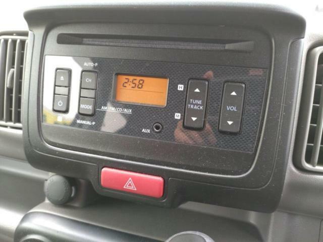 CDオーディオ!ラジオも付いてます!