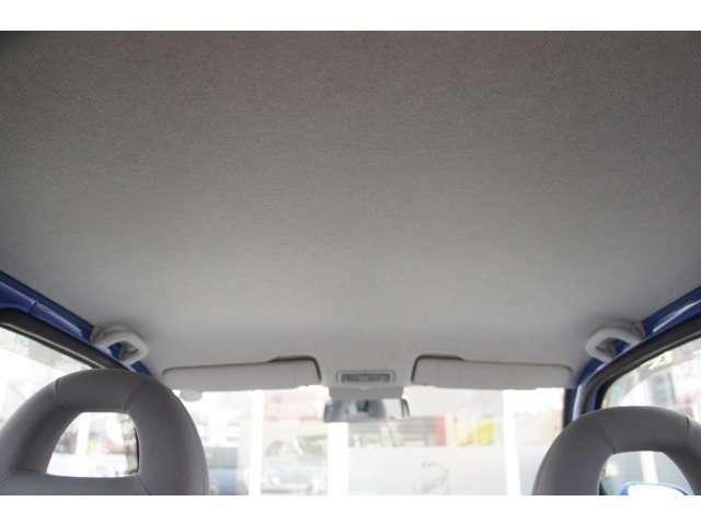 輸入車によくある天張りのたるみもなくヤニ汚れもなくキレイに使用されております。