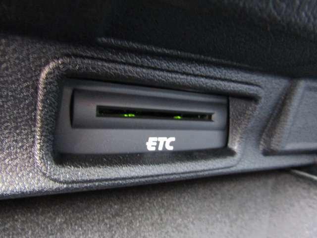 ETC付きです。料金所での停車の必要がなく便利です。