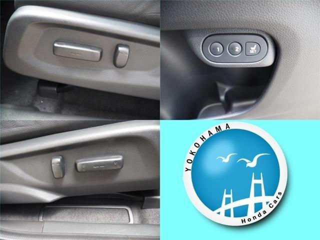 シートの位置や角度を 電動で細かく調整可能  簡単操作でベストポジションを 運転席助手席はメモリー機能付パワーシートです