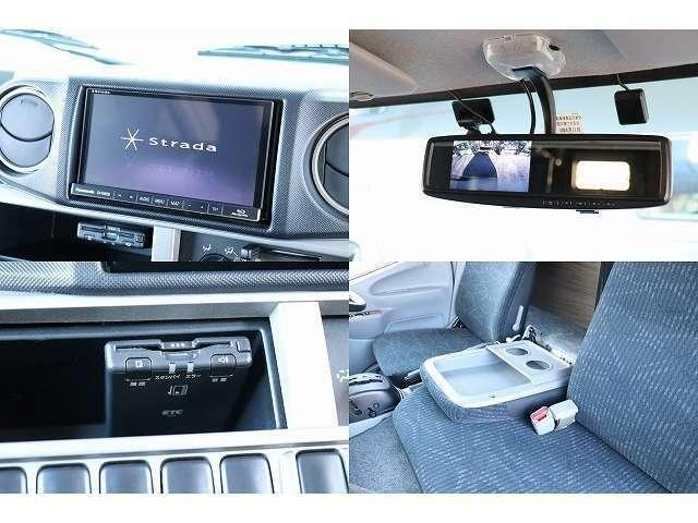 ストラーダSDナビ 地デジ ETC バックカメラ ドライブレコーダー Blu-ray再生 Bluetooth