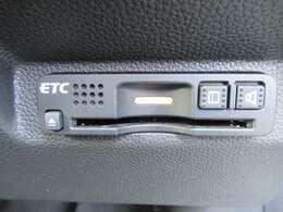 【ETC】便利なETC車載器も装備!高速道路の料金所もスムーズに通過できます。時間帯によってはお得になります!