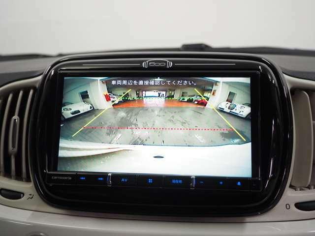バックカメラも装備していますので駐車時も安心です