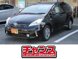 トヨタ プリウスα 1.8 S チューン ブラック SDナビ DVD  フルセグ バックカメラ