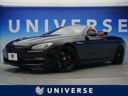 BMW 6シリーズカブリオレ 640i コンフォートPKG プラスPKG 赤革 20AW