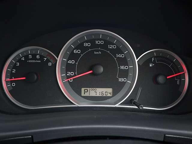 【メーター】現在の走行距離71604kmでございます。