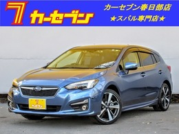 スバル インプレッサスポーツ 2.0 i-S アイサイト 4WD 純正8型ナビ スマ-トキ- 電動シ-ト