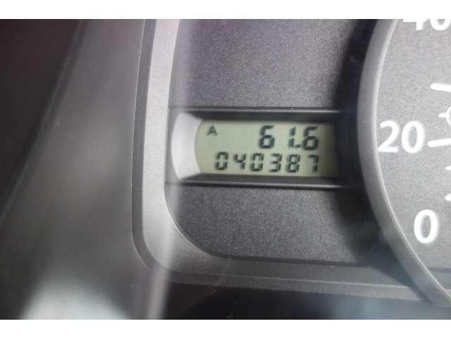 走行距離は、40,387Km!