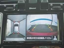 アラウンドビューモニターで、お車の周囲が確認出来て安心です
