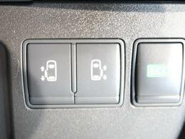 【パワースライドドア】力の弱いお子様や年配の方、女性の強い味方♪ドアノブやリモコンのスイッチ操作だけで開閉可能にした快適装備。半ドア防止機能も付いています。