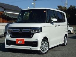 ホンダ N-BOX カスタム 660 L ターボ 新車用品11点付き 衝突被害軽減ブレーキ
