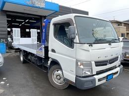 三菱ふそう キャンター 積載車 S-RIDE タダノ 3トン ターボ ローダー