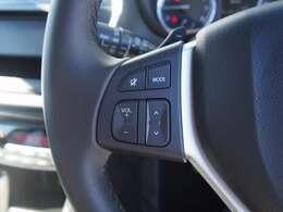 オーディオ操作が便利なステアリングリモコン付きです♪運転中でも便利な装備の1つですね