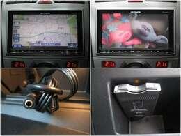 carrozzeriaメモリーナビ付☆フルセグTV/DVD再生/CD/Bluetooth/USB&AUX/必須アイテムETCももちろん装備!!
