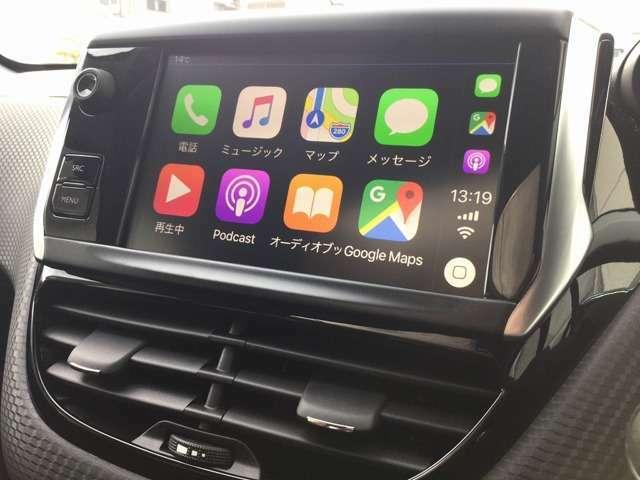 CarPlayも接続可能です。